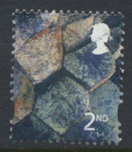 Northern Ireland GB  Regional SG NI89 1st Basalt 2001  SC# 12 Used