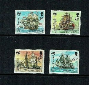 St Helena: 1988 Bicentenary of Australian Settlement,  MNH set