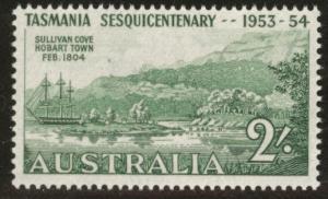 AUSTRALIA Scott 265 MH* 1953 stamp
