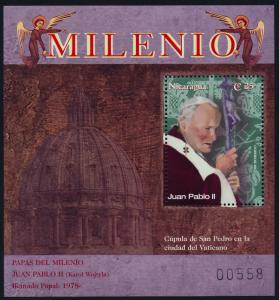 Nicaragua 2359 MNH Pope Paul John II