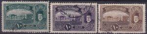 Turkey #431-3  F-VF Unused  CV $10.00  (Z3100)