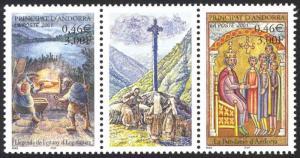 Andorra French Sc# 534 MNH 2001 Andorran Heritage