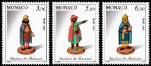 Monaco Scott 1976-1978 (1995) Mint NH VF Complete Set B