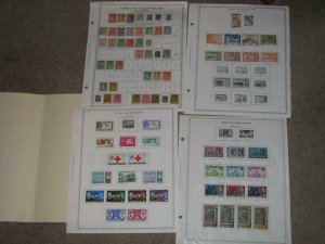 LAOS-SMALL, COLLECTION 1951-1967, MOST MINT HINGED, A FEW USED