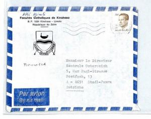 CM129 1993 *Zaire* Air Mail MIVA Missionary Cover