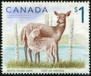 Canada SC# 1688 Deer $1.00 MNG