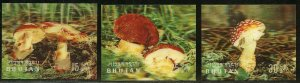 BHUTAN 3-D MUSHROOMS SCOTT#154/154D   MINT NEVER  HINGED--SCOTT$22.25