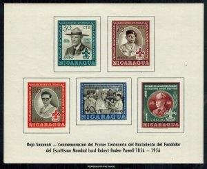 Nicaragua Scott 386a Mint never hinged.