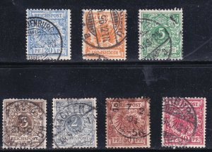 GERMANY STAMP USED STAMPS COLLECTION LOT
