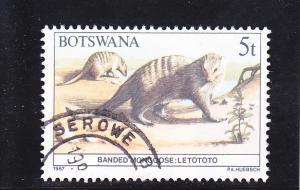 Botswana  Scott#  408  Used