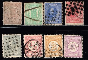 NETHERLANDS STAMP USED STAMPS COLLECTON LOT #1