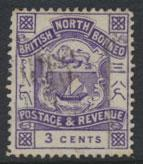 North Borneo  SG 39 Used  please see scans & details