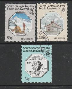 South Georgia 1987 Geophysical year VFU/CTO SG 176/8