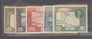 Iran 910-914 Mint VF H