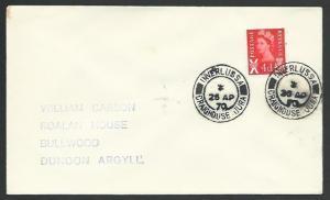 GB SCOTLAND 1970 cover INVERLUSSA / CRAIGHOUSE JURA cds....................55820