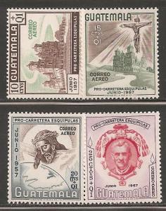 Guatemala SC CB11-14 Mint, Never Hinged