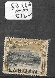 LABUAN (PP0204B) 18C MOUNTAIN SG 96A  MOG