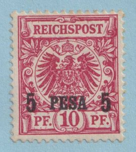 GERMAN EAST AFRICA 3  MINT LIGHTLY HINGED OG * TONED PERFS - VERY FINE!