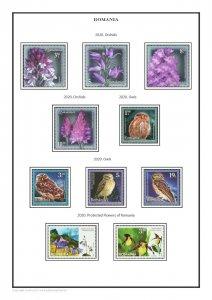 Romania 1858-2020  PDF(DIGITAL) STAMP ALBUM PAGES