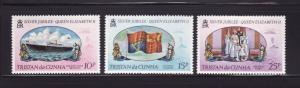 Tristan Da Cunha 213-215 Set MNH Various (B)