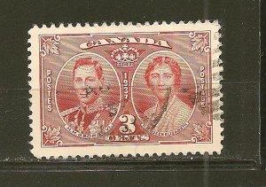 Canada 237 King George VI & Elizabeth Used