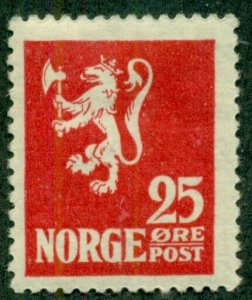 NORWAY #102, Mint Hinged, Scott $25.00