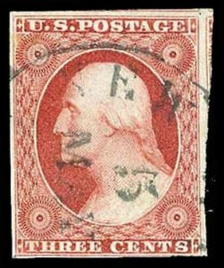 U.S. 1851-57 ISSUE 10A  Used (ID # 74239)