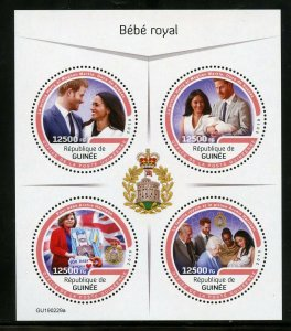 GUINEA 2019 ROYAL BABY ARCHIE  SHEET MINT NEVER HINGED