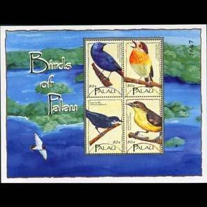 PALAU 2004 - Scott# 789 Sheet-Birds NH