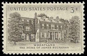 PCBstamps   US #1081 3c Wheatland, MNH, (PCB-40)