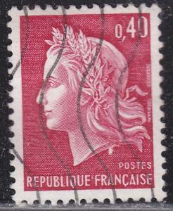 France 1231 Used 1969 Marianne 40c