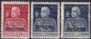 Tripolitania #17-9  F-VF Unused CV $7.15 (Z6864)