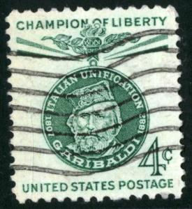 United States - SC#1168 - USED -1960 - Item USA254