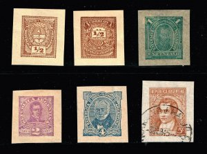 ARGENTINA STAMP BOB OLD CUT SQ STAMP COLLECTION LOT #S3