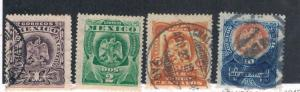 Mexico Oldies 304-5;307-8 Mixed (M0069)