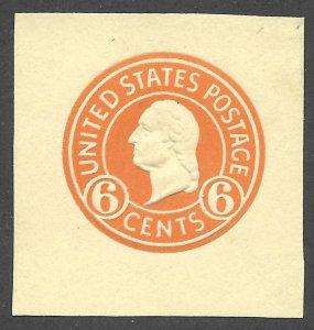 Doyle's_Stamps: Mint 1932 Scott #U530* Cut Square