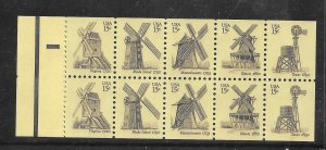 #1738-42a MNH Complete Booklet Pane