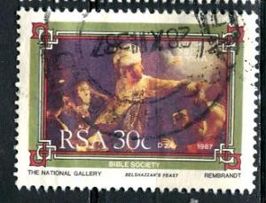 South Africa: 1987 Sc. #703, O/Used Single Stamp