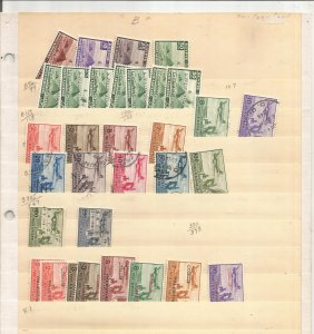 EGYPT COLLECTION ON STOCK SHEET, MINT/USED