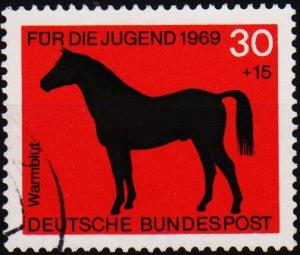 Germany. 1969 30pf+15pf S.G.1480 Fine Used
