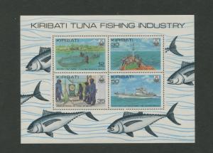 KITIBATI - Scott 383a - MNH - General Issue -1981 - Souvenir Sheet