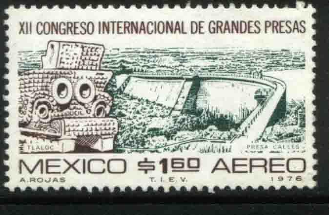 MEXICO C520, International Great Dams Congress. MINT, NH. F-VF.