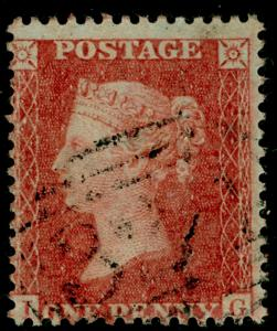 SG29, 1d red-brown, LC14, FINE USED. Cat £22. IG