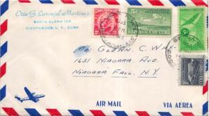Cuba 1c Proposed Communications Building Postal Tax, 2c Gomez, 5c Airplane an...