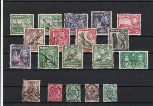 malta used   stamps ref r12460