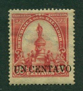 El Salvador 1906 #312 MNG SCV (2020) = $4.00