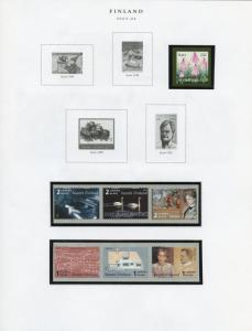 FINLAND SELECTION OF 2003//2006 ISSUES MINT NH AS SHOWN SCOTT CATALOG $134.00