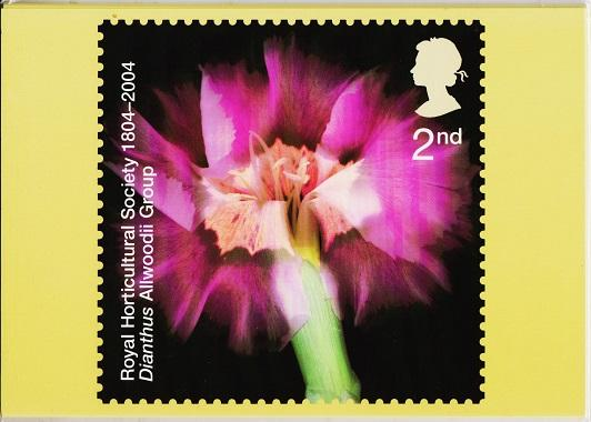 Great Britain. 2004 Horticultural Society. PHQ Cards(7) Unused