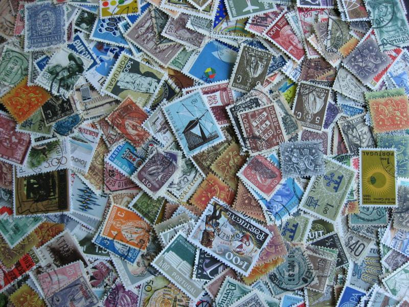 Hoard breakup mixture 300 commoner PORTUGAL Duplicates & mixed condition