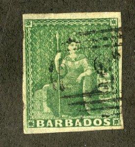 BARBADOS 5 USED SCV $230.00 BIN $95.00 ROYALTY